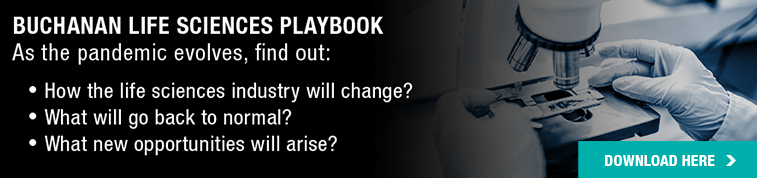 Download Buchanan's Life Sciences Playbook Here